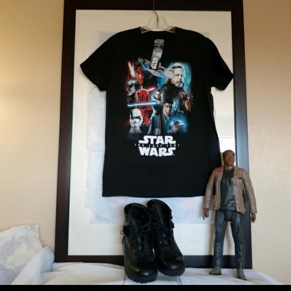Stars Wars Graphic Black TShirt